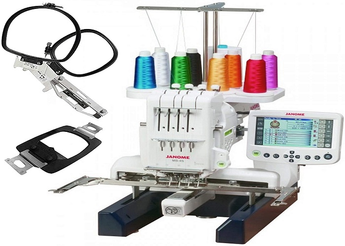 Janome MB-4S Four-Needle Embroidery Machine