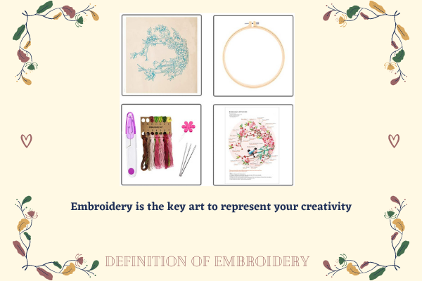 What Is The Definition Of Embroidery