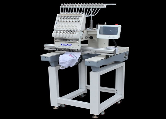 YQ-1501 Automatic Single 15 Needle Computer Embroidery Machine