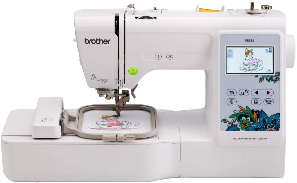 Brother PE535 Embroidery Machine: Best for embroidery design.