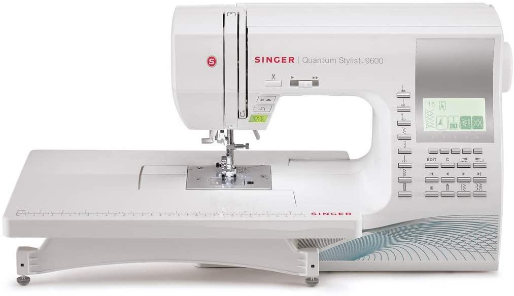 SINGER | Quantum Stylist 9960 Computerized Portable Sewing Machine