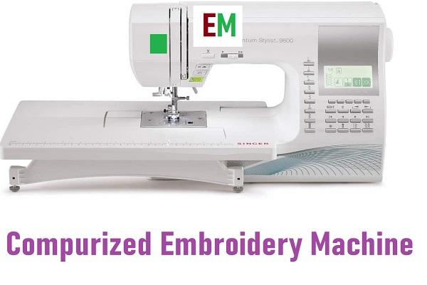 Computerized Machine Embroidery