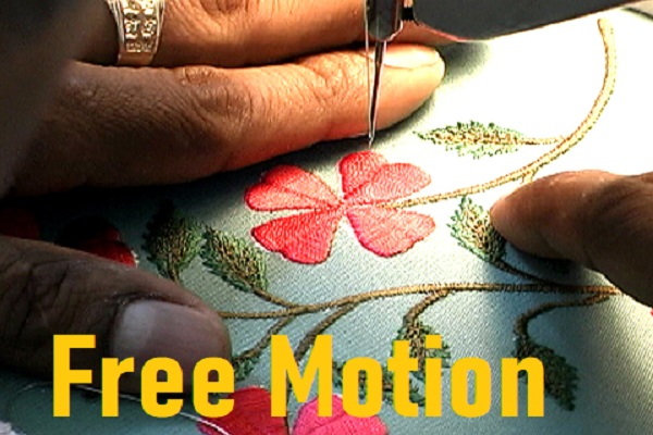 Free Motion Machine Embroidery