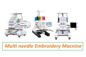 Best Multi Needle Embroidery Machine For Home Use