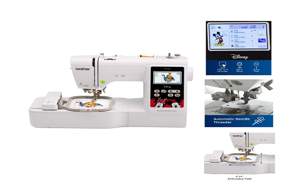 automatic embroidery macnine