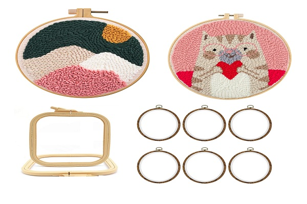 Best embroidery hoop for punch needle