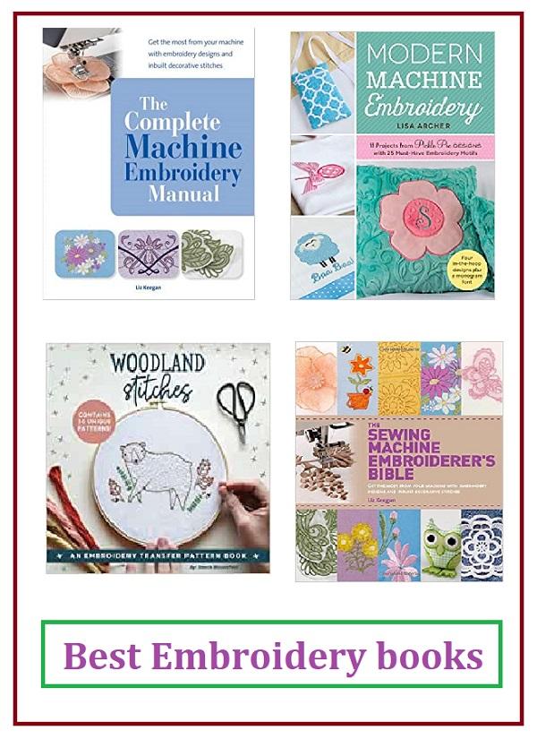 Best Machine Embroidery Books