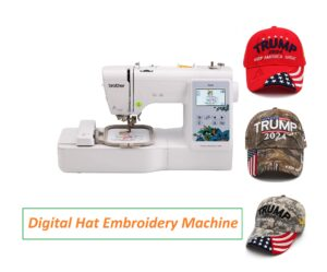 digital hat embroidery machine