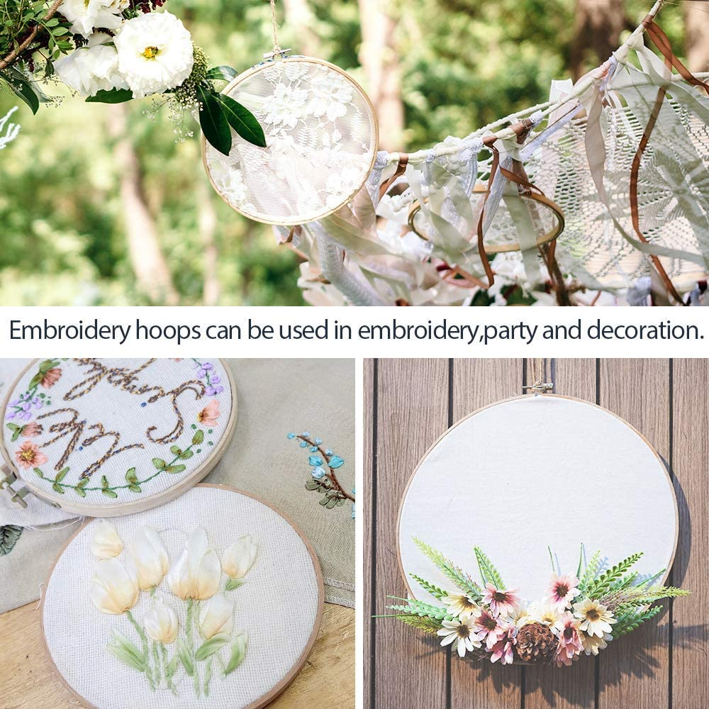 How to use embroidery hoop